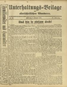 Unterhaltungs-Beilage zum Oberschlesischen Wanderer, 1916, Jg. 89, Nr. 26