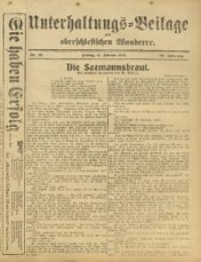 Unterhaltungs-Beilage zum Oberschlesischen Wanderer, 1916, Jg. 89, Nr. 33