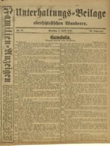 Unterhaltungs-Beilage zum Oberschlesischen Wanderer, 1916, Jg. 89, Nr. 77