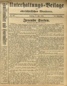 Unterhaltungs-Beilage zum Oberschlesischen Wanderer, 1916, Jg. 89, Nr. 116