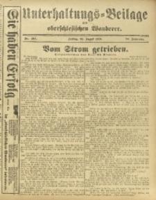 Unterhaltungs-Beilage zum Oberschlesischen Wanderer, 1916, Jg. 89, Nr. 194