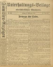 Unterhaltungs-Beilage zum Oberschlesischen Wanderer, 1916, Jg. 89, Nr. 265