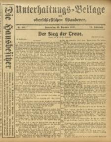 Unterhaltungs-Beilage zum Oberschlesischen Wanderer, 1916, Jg. 89, Nr. 293