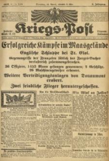 Kriegs-Post, 1916, Jg. 2, Nr. 549
