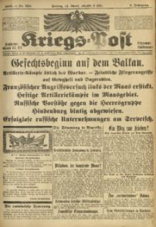 Kriegs-Post, 1916, Jg. 2, Nr. 552