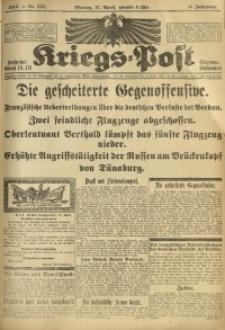 Kriegs-Post, 1916, Jg. 2, Nr. 555