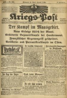 Kriegs-Post, 1916, Jg. 2, Nr. 557