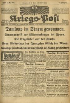 Kriegs-Post, 1916, Jg. 2, Nr. 605