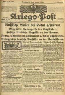 Kriegs-Post, 1916, Jg. 2, Nr. 630