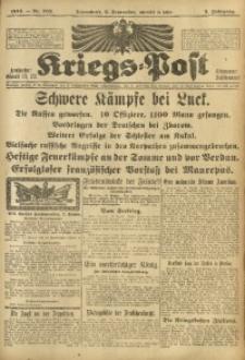 Kriegs-Post, 1916, Jg. 3, Nr. 702