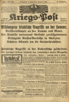 Kriegs-Post, 1916, Jg. 3, Nr. 709