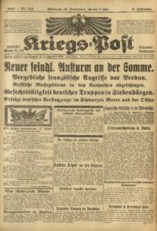 Kriegs-Post, 1916, Jg. 3, Nr. 713