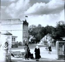 Głubczyce. Plac 1 Maja po 1970 r.