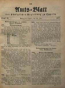 Amts-Blatt der Königlichen Regierung zu Oppeln, 1877, Bd. 62, St. 26