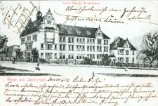 Głubczyce. Nowe królewskie gimnazjum 1902 r.