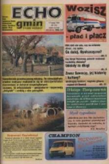 Echo Gmin : tygodnik regionalny : Bierawa, Cisek, Kędzierzyn-Koźle, Pawłowiczki, Polska Cerekiew, Reńska Wieś, Zdzieszowice 1998, nr 7 (24).