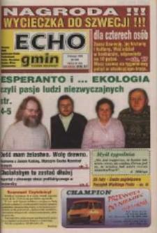 Echo Gmin : tygodnik regionalny : Bierawa, Cisek, Kędzierzyn-Koźle, Pawłowiczki, Polska Cerekiew, Reńska Wieś, Zdzieszowice 1998, nr 8 (25).