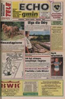 Echo Gmin : tygodnik regionalny : Bierawa, Cisek, Kędzierzyn-Koźle, Pawłowiczki, Polska Cerekiew, Reńska Wieś, Zdzieszowice 1998, nr 32 (49).
