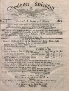 Beuthner Kreisblatt, 1864, Nro. 5