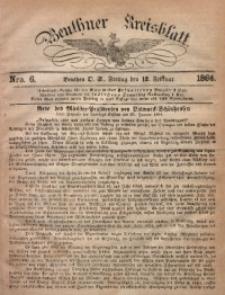 Beuthner Kreisblatt, 1864, Nro. 6