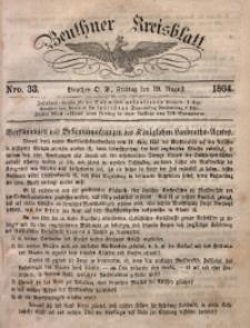 Beuthner Kreisblatt, 1864, Nro. 33