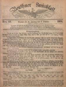 Beuthner Kreisblatt, 1864, Nro. 40