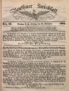 Beuthner Kreisblatt, 1864, Nro. 46