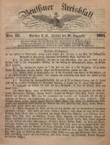 Beuthner Kreisblatt, 1864, Nro. 52