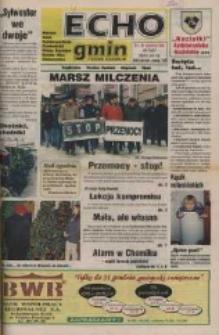 Echo Gmin : tygodnik regionalny : Bierawa, Cisek, Kędzierzyn-Koźle, Pawłowiczki, Polska Cerekiew, Reńska Wieś, Zdzieszowice 1998, nr 50 (67).