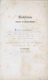 Akt zawarcia małżeństwa z 9.05.1887 r.