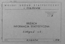 Bieżąca informacja statystyczna. Listopad 1964, [cz. II]