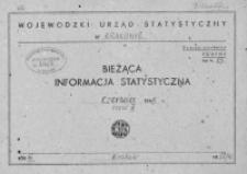 Bieżąca informacja statystyczna. Czerwiec 1965, cz. II