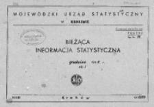 Bieżąca informacja statystyczna. Grudzień 1965, cz. I