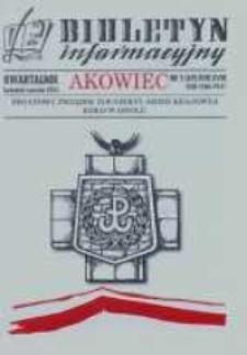 """Biuletyn Informacyjny """"Akowiec"""". R. 18, nr 2 (69)."""