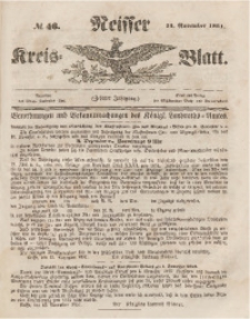 Neisser Kreis-Blatt, 1851, Jg. 10, nr46