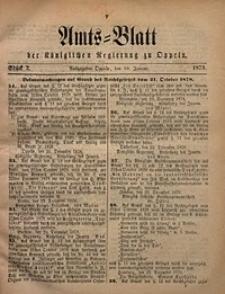Amts-Blatt der Königlichen Regierung zu Oppeln, 1879, Bd. 64, St. 2
