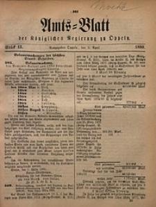 Amts-Blatt der Königlichen Regierung zu Oppeln, 1880, Bd. 65, St. 15