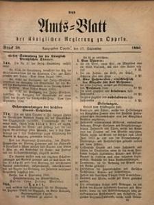 Amts-Blatt der Königlichen Regierung zu Oppeln, 1880, Bd. 65, St. 38