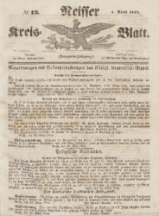 Neisser Kreis-Blatt, 1854, Jg. 13, nr13
