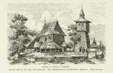 Drewniany kościół w Lubomii