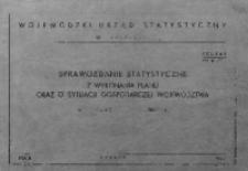 Sprawozdanie statystyczne z wykonania planu oraz o sytuacji gospodarczej województwa w roku 1967