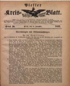Plesser Kreis-Blatt, 1885, St. 50