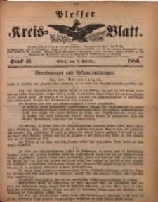 Plesser Kreis-Blatt, 1886, St. 41