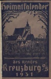 Heimat-Kalender des Kreises Kreuzburg OS., 1931 [Jg. 7]
