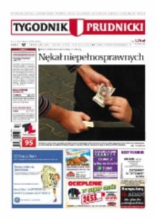Tygodnik Prudnicki : prywatna gazeta lokalna gmin : Prudnik, Biała, Głogówek, Korfantów, Lubrza, Strzeleczki, Walce. R. 18, nr 47 (934) [933].