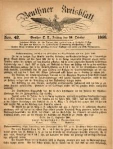 Beuthner Kreisblatt, 1866, Nro. 42