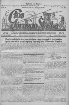 Głos Górnego Śląska, 1929, R. 9, nr 30
