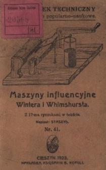 Maszyny influencyjne Wintera i Whimshursta