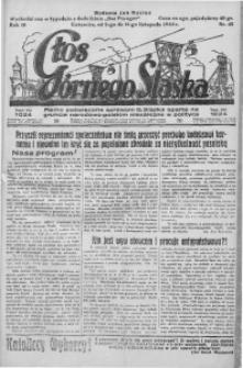 Głos Górnego Śląska, 1930, R. 10, nr 45