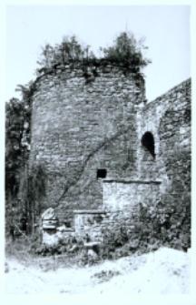 Głubczyce. Baszta obronna przy klasztorze.